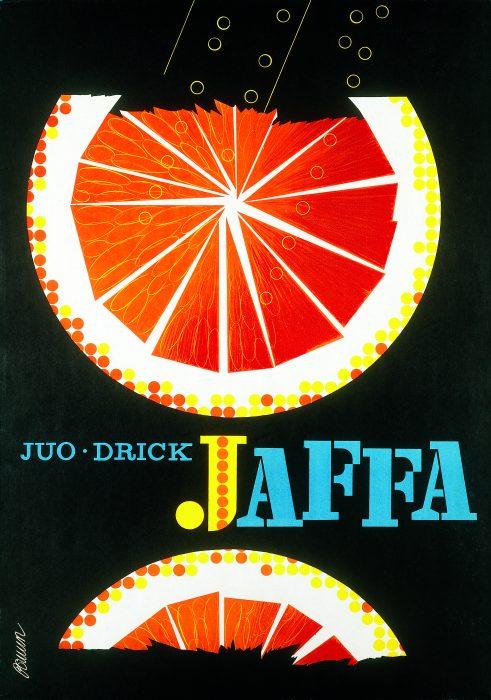 エリックブルーン 「JAFFA オレンジ」1960年 復刻版