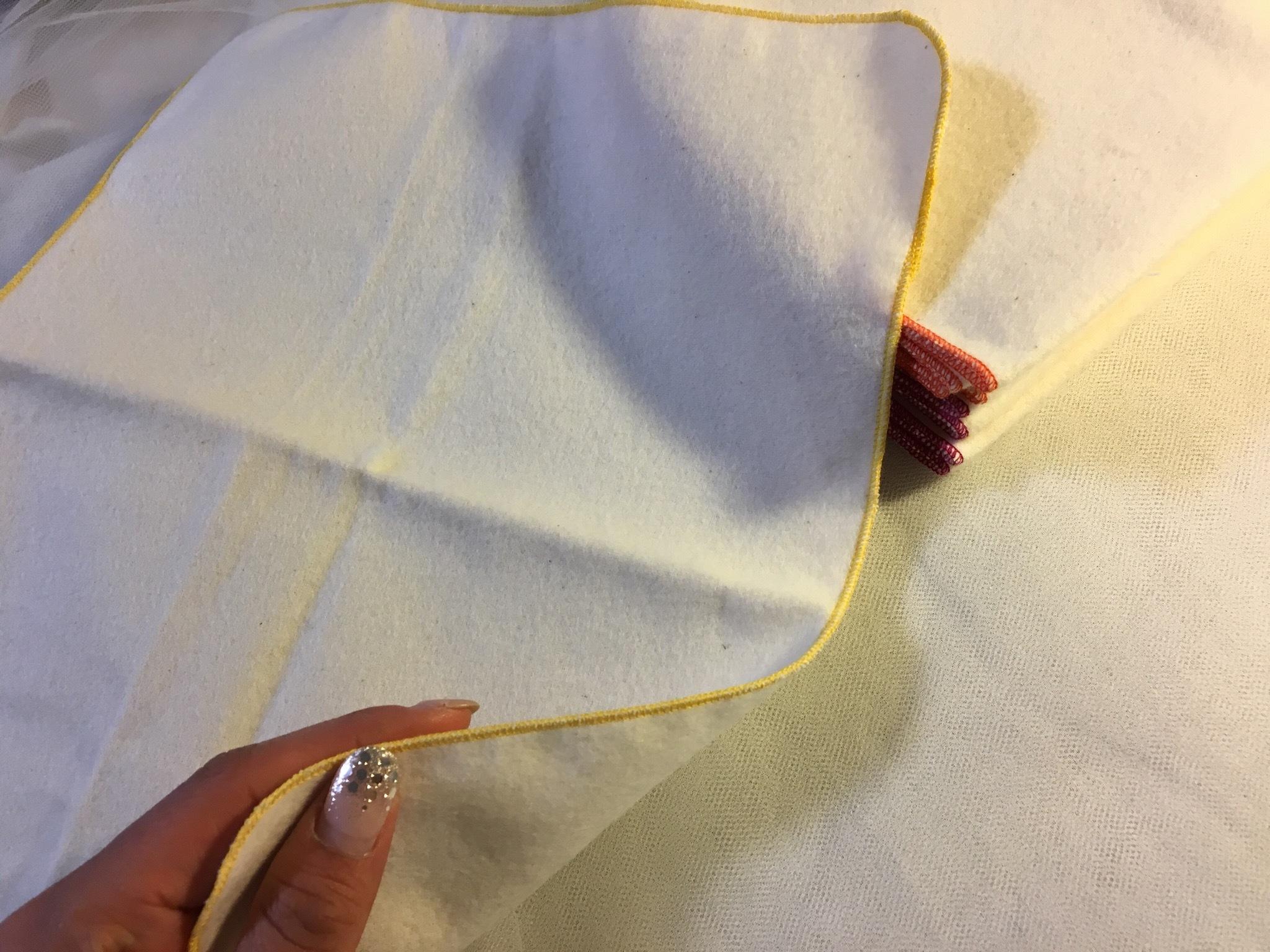 ハンカチタイプの布ナプキン(無漂白ネル生地)