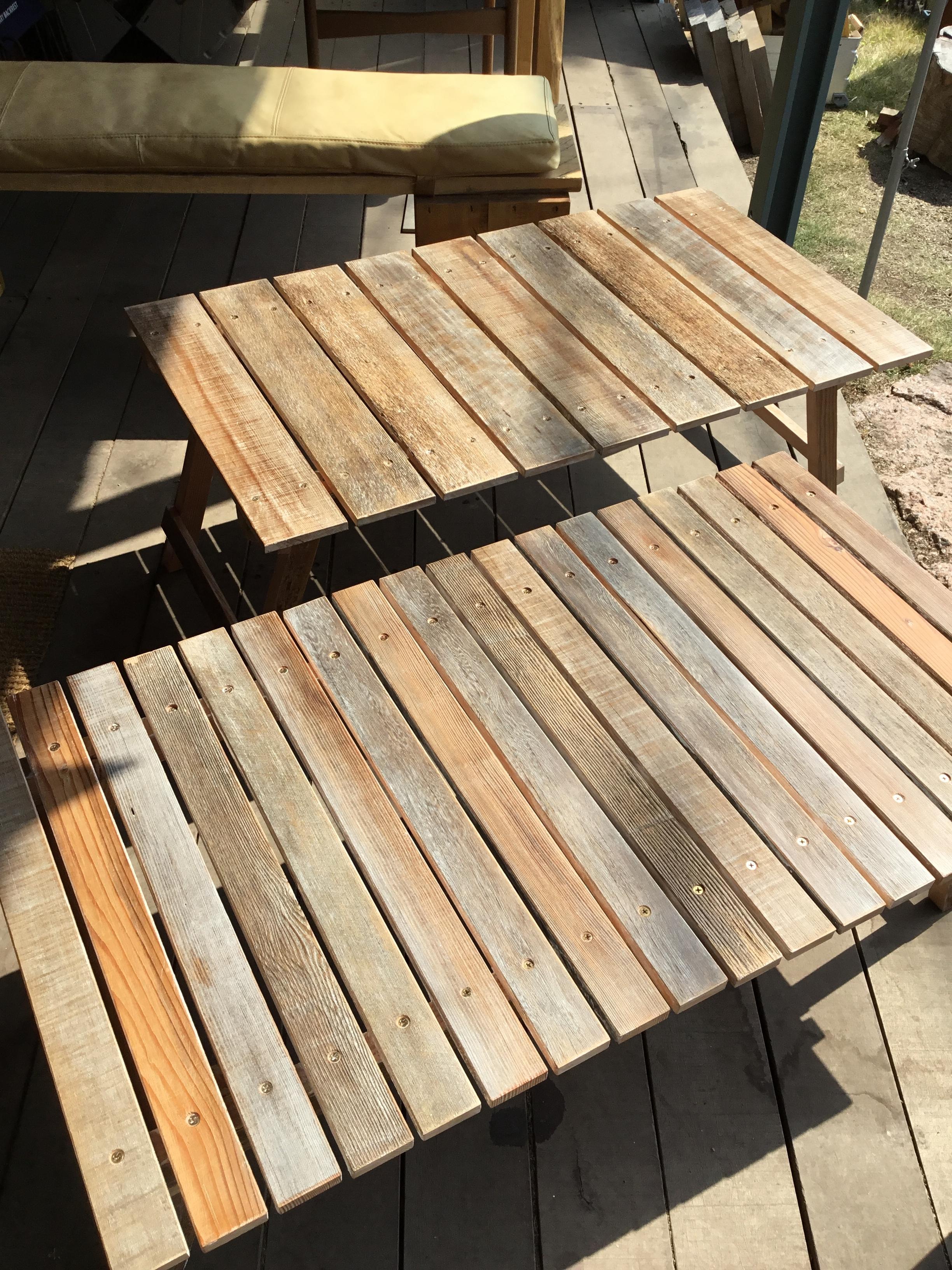 ダグラスファー古材テーブル