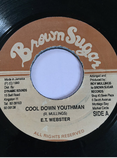 ET Webster - Cool Down Youthman【7'】