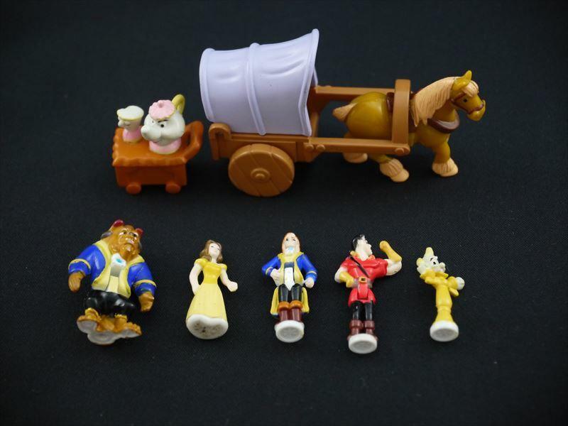 箱付き完品 美女と野獣 魔法のお城 ポーリーポケット ディズニー