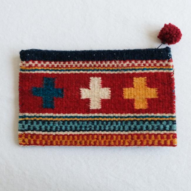あったか羊毛ポーチ /281d/ MEXICO メキシコ