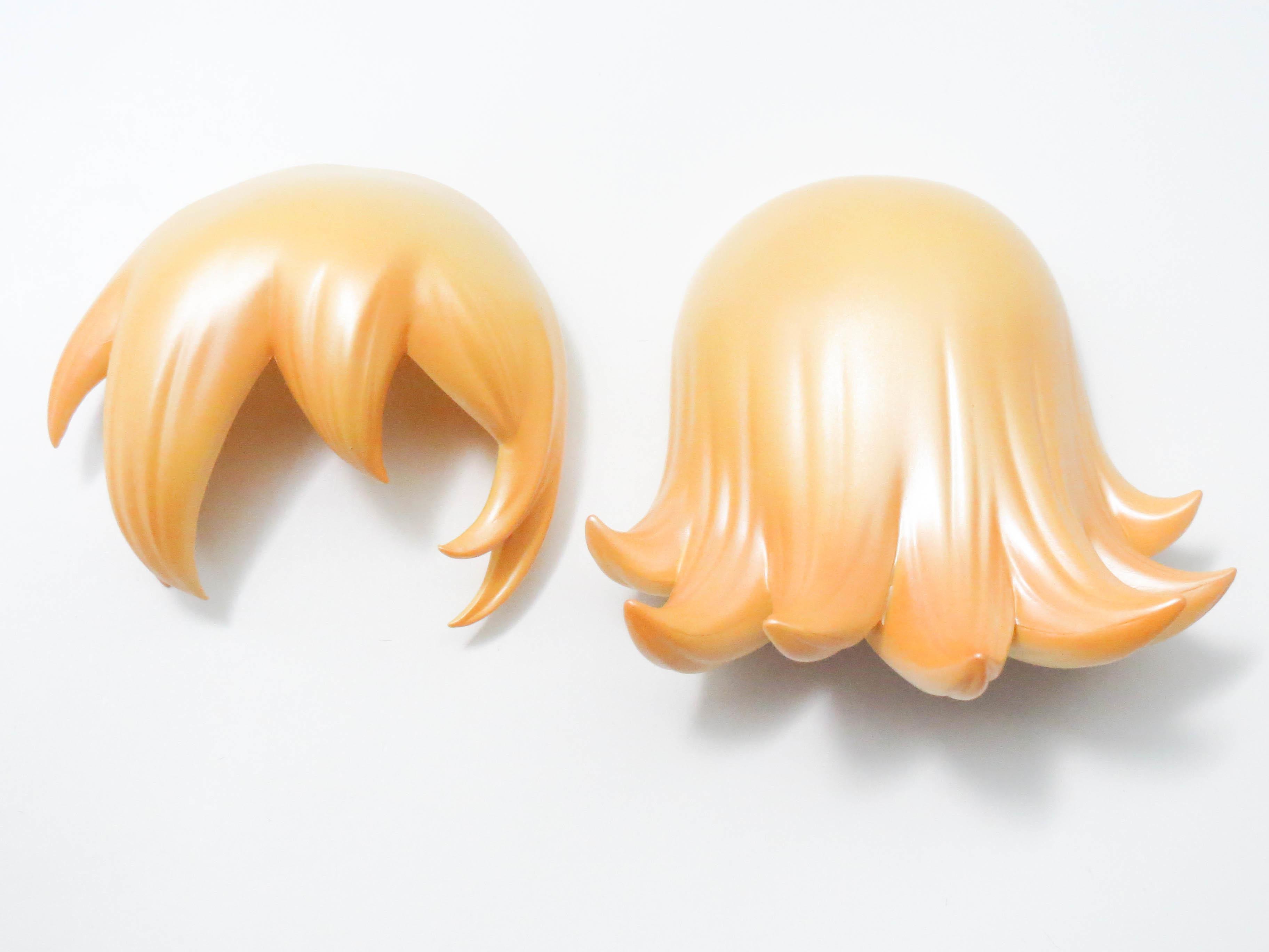 【05】 ブラックマジシャン・ガール 髪パーツ ロング キューポッシュ