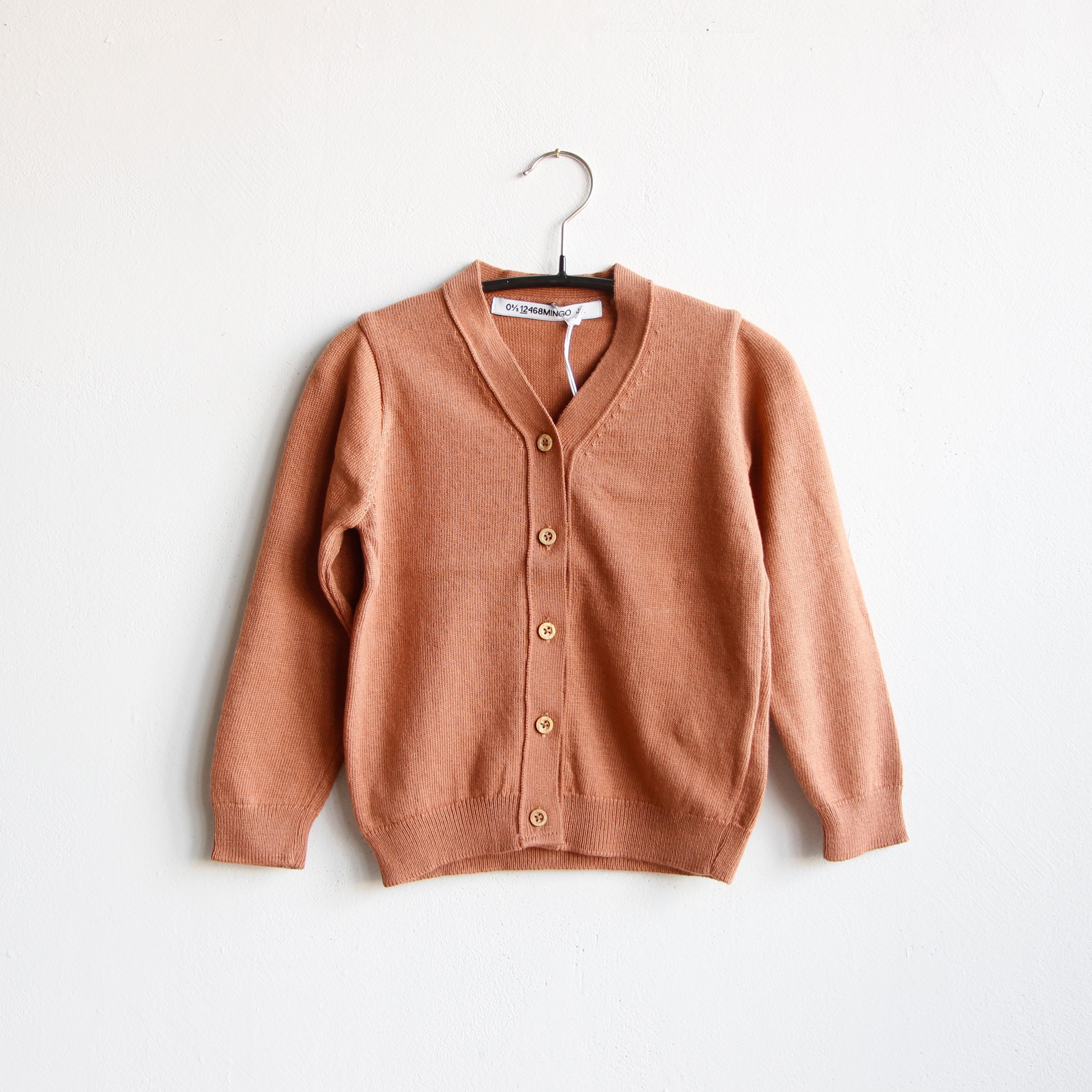 《MINGO. 2020SS》Cardigan / mid brown