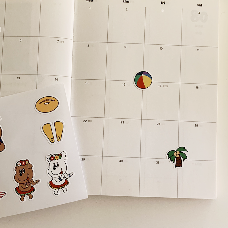 [OS-28] 夏限定!! summer ゴンチル リムーバブル ステッカー