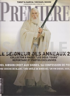 5052 PREMIERE(フランス版)308・2002年10月・雑誌