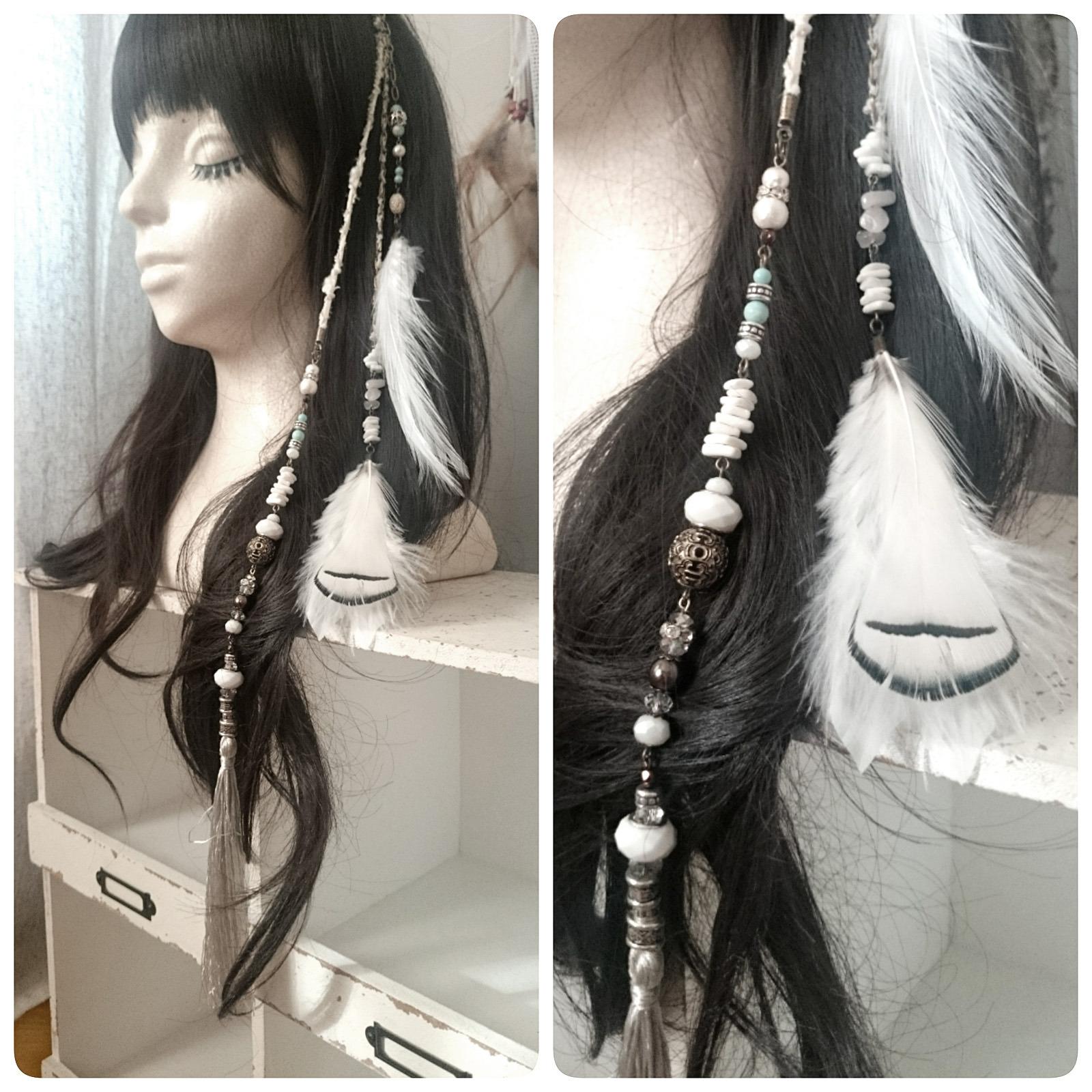 エクステンション(ジプシー & トライバル 風 ) / 髪飾り