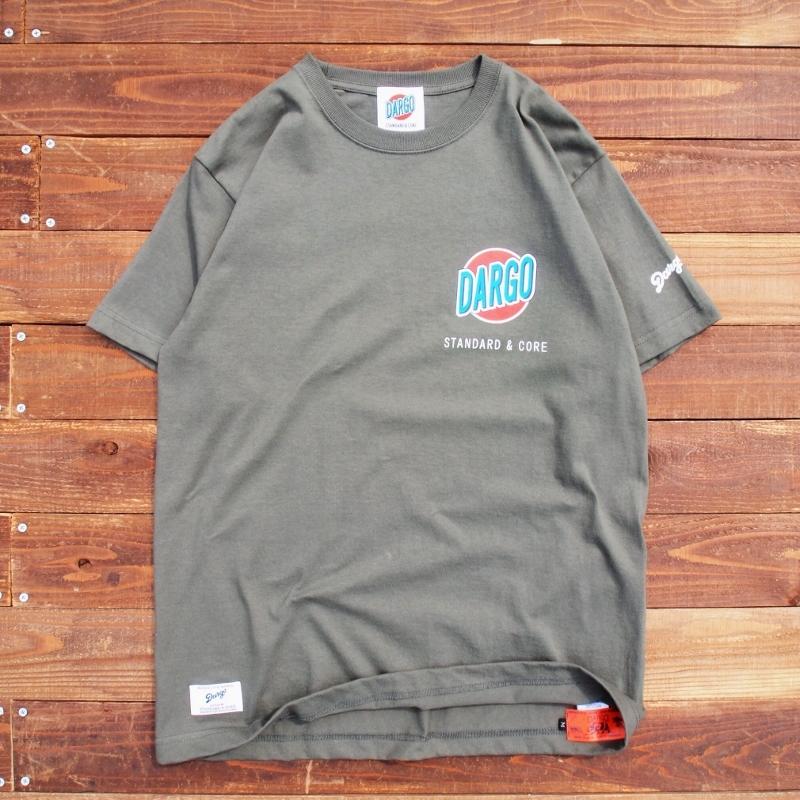 "【DARGO】""Trade Mark"" T-shirt (ARMY GREEN)"