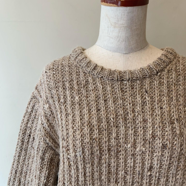 vintage wool knit sweater