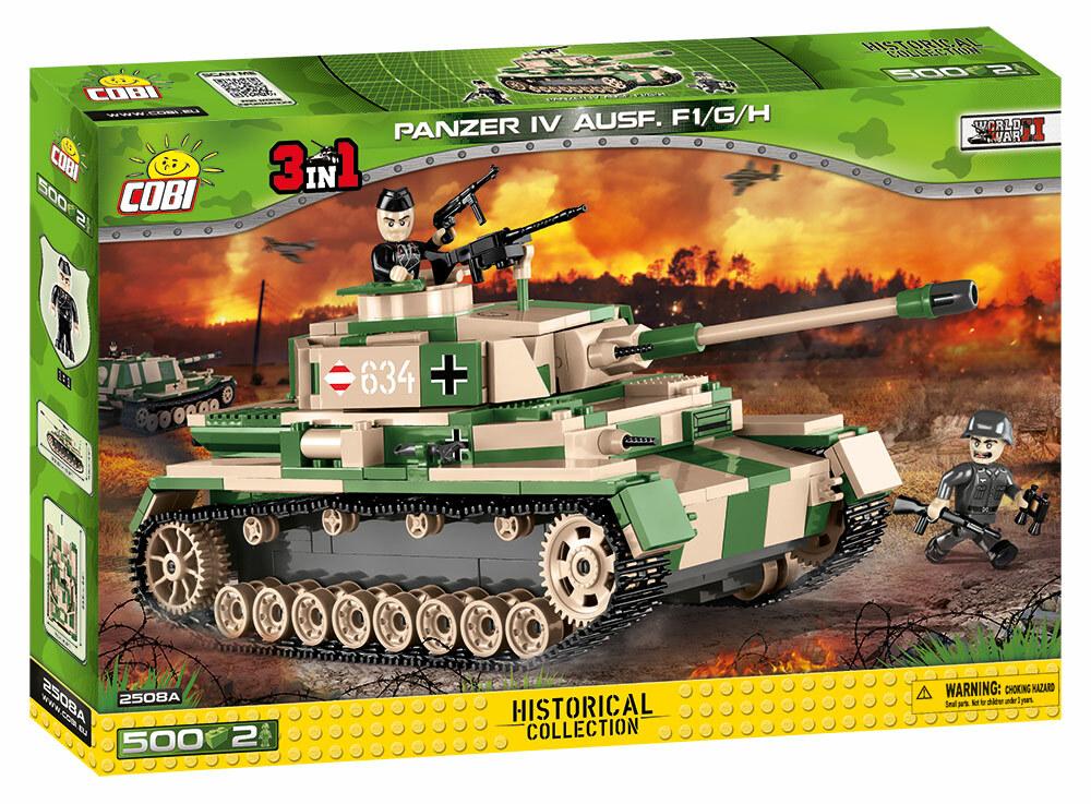 COBI #2508A IV号戦車(カモフラージュ)Panzer IV