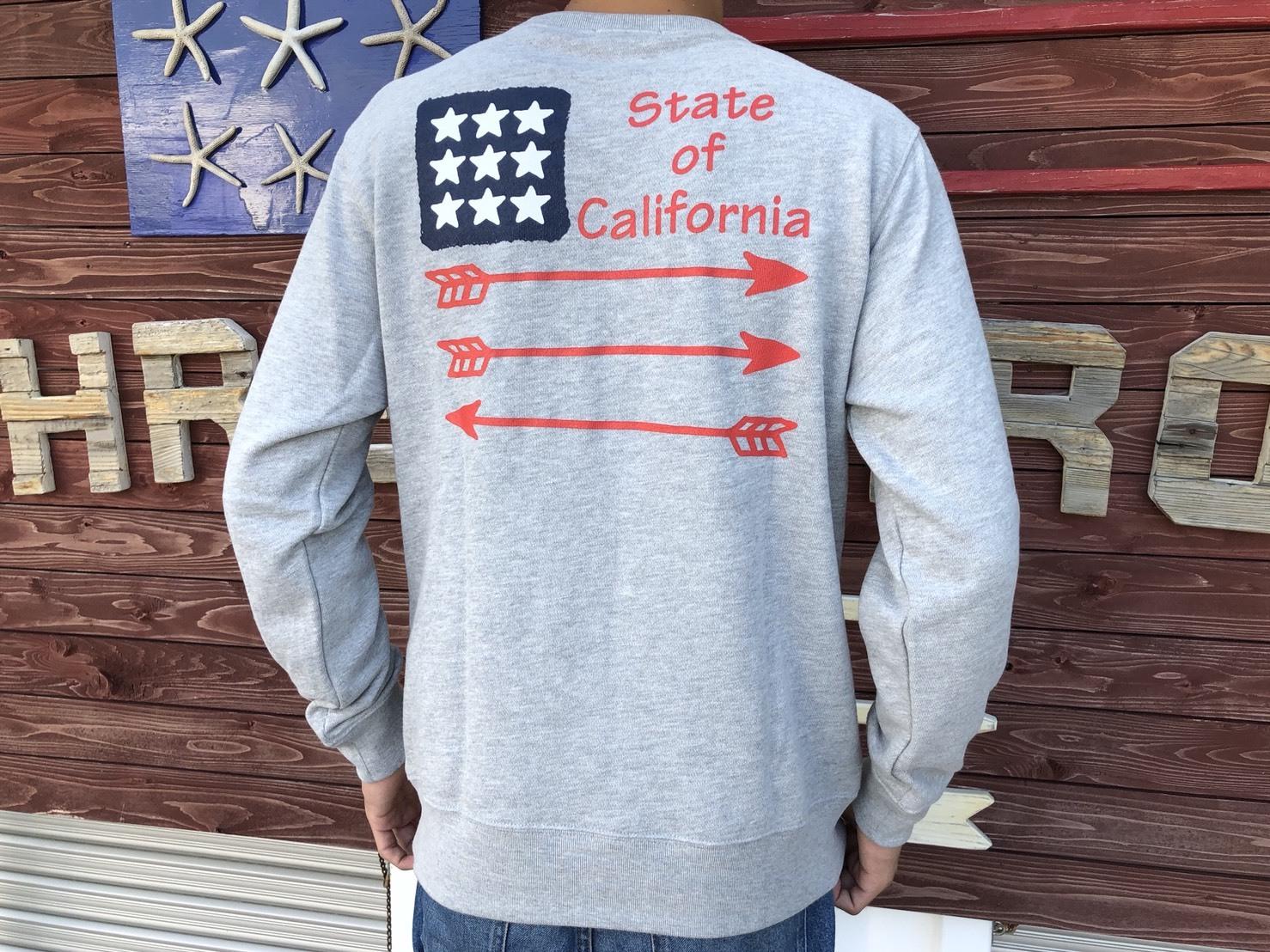 #California スウェット(grey)