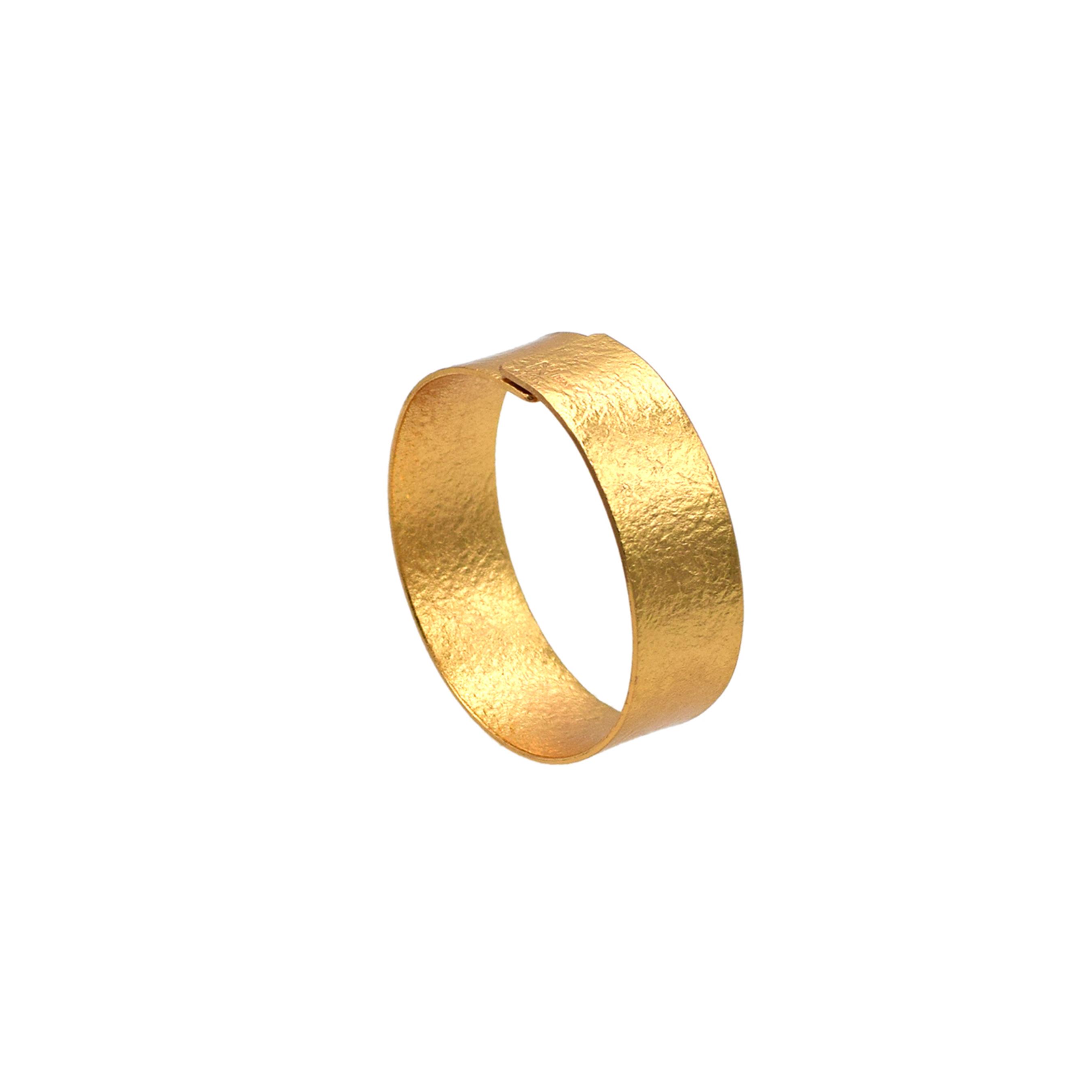 《ブレスレット》TIN BREATH 20mm Gold plate