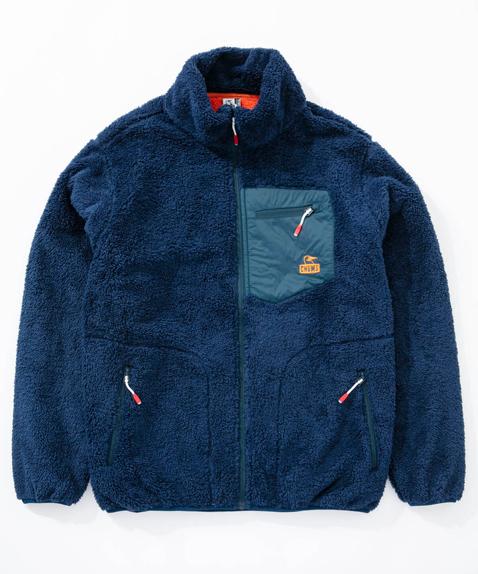 CHUMS(チャムス) Bonding Fleece Jacket (ボンディングフリースジャケット) Navy (ネイビー) CH04-1117