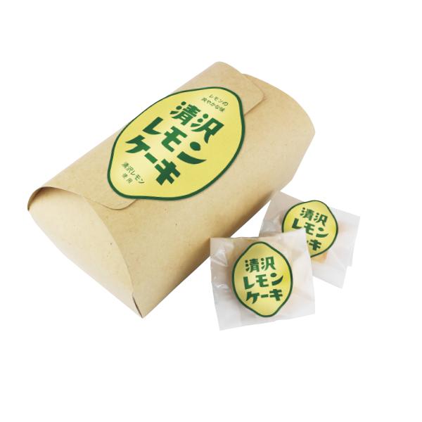 【静岡】清沢レモンケーキ10個入り [Kiyosawa Lemon Cake] 人気の清沢レモンをケーキに。 静岡おみやプロジェクト開発商品