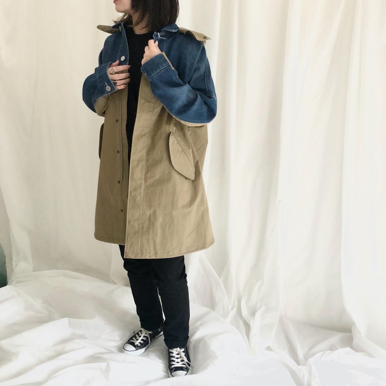 【 ANTGAUGE 】- AA636 - 切替モッズコート