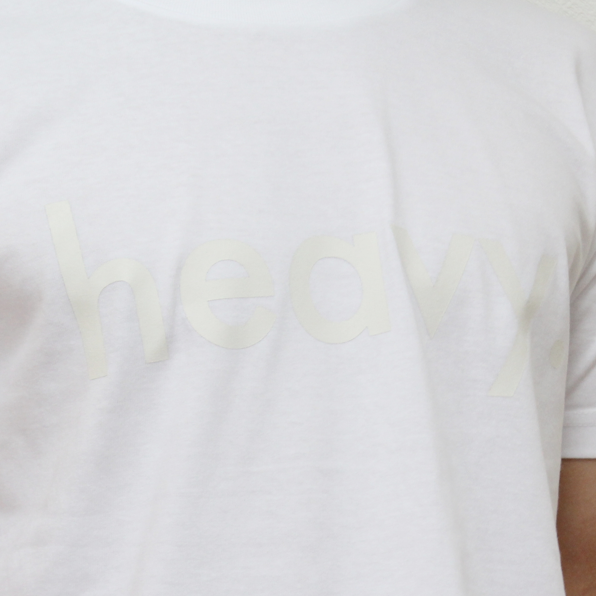logo tee WHITE [2017SS] - 画像3