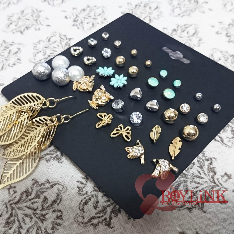 【ピアス】20種セット 様々なデザイン おしゃれピアス ファッション ジュエリー スタッド Vol.2