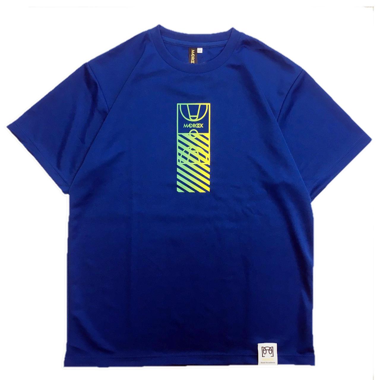 マッドロック / コートグラデーションTシャツ / ドライタイプ / ブルー