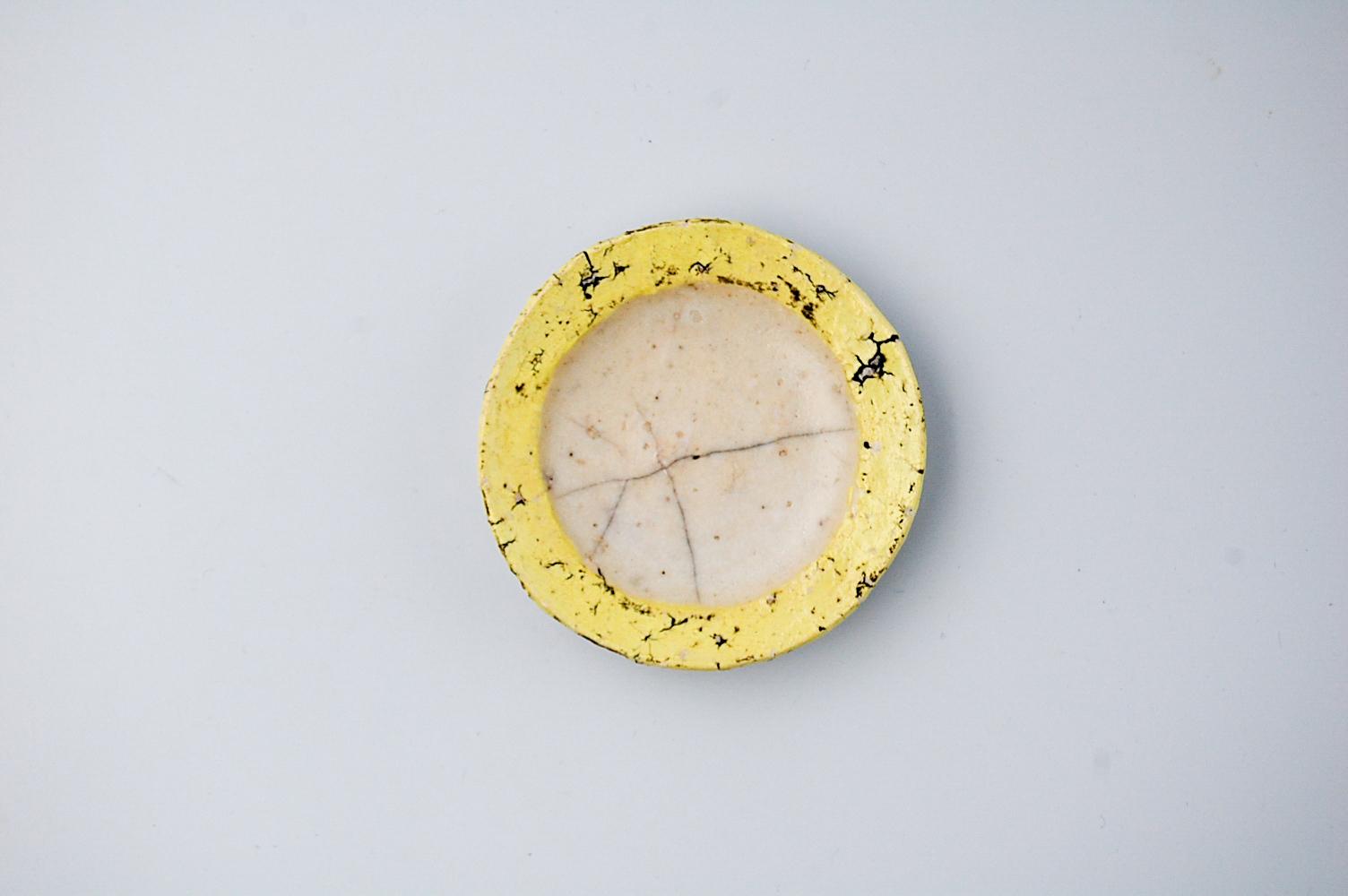 ◆受注生産◆SLL小皿(イエロー) 片瀬和宏作