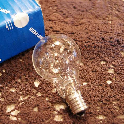 白熱電球 E17 100W クリプトン球クリア