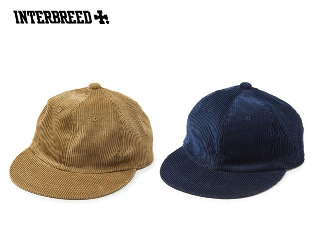 INTERBREED CORDUROY BALL CAP