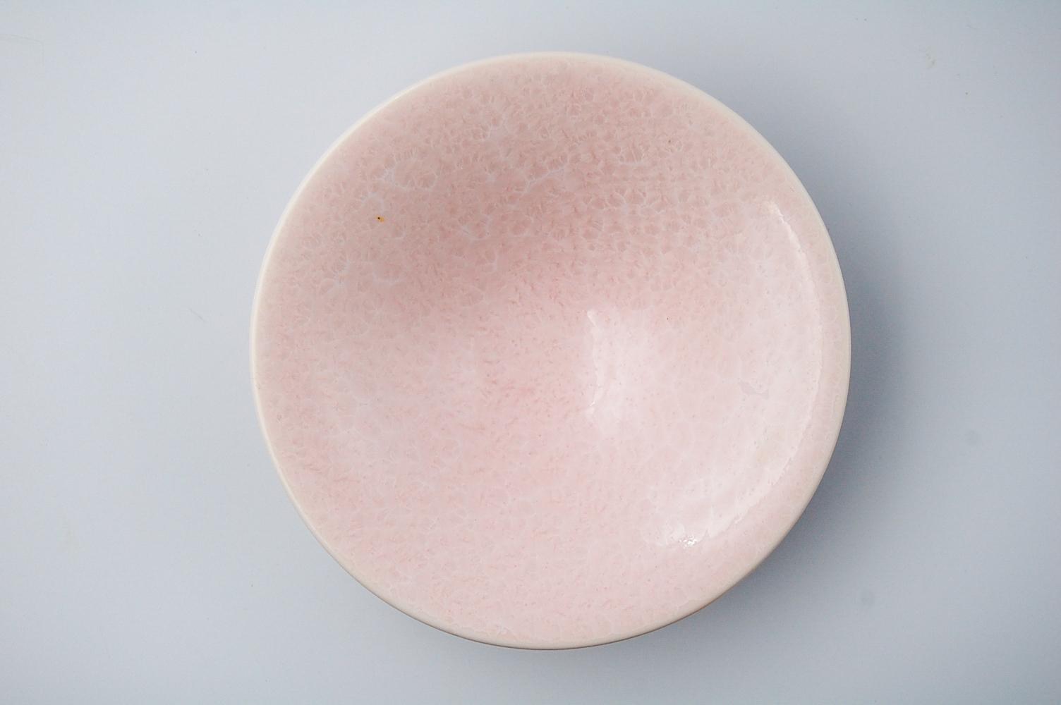 ◆受注生産◆結晶釉さくら平鉢 安藤寛泰作
