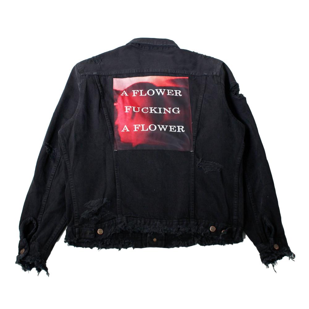 ALMOSTBLACK X IDEA BY SOSU Exclusive Vintage Patch Work Denim Jacket