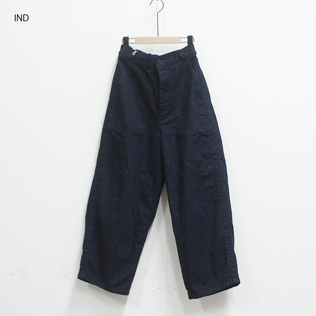 ORDINARY FITS オーディナリーフィッツ JAMES PANTS ow レディース パンツ ロング デニム ゆったり 通販 (品番of-p002dow)