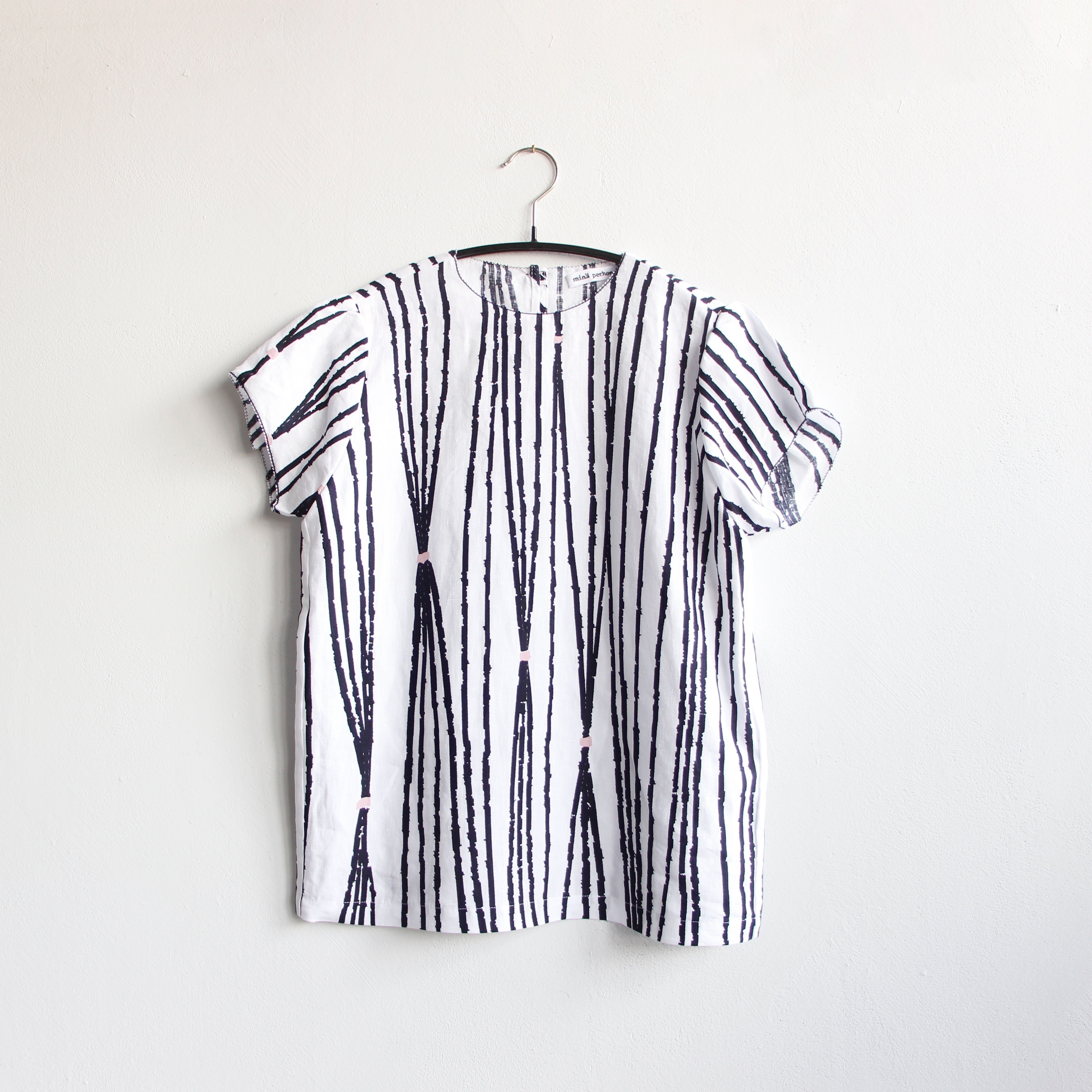 《mina perhonen 2020SS》taba ドレス / navy / 90・100cm