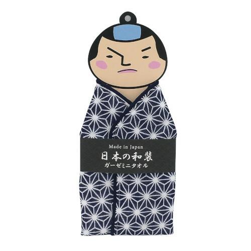 【ガーゼミニタオル】侍