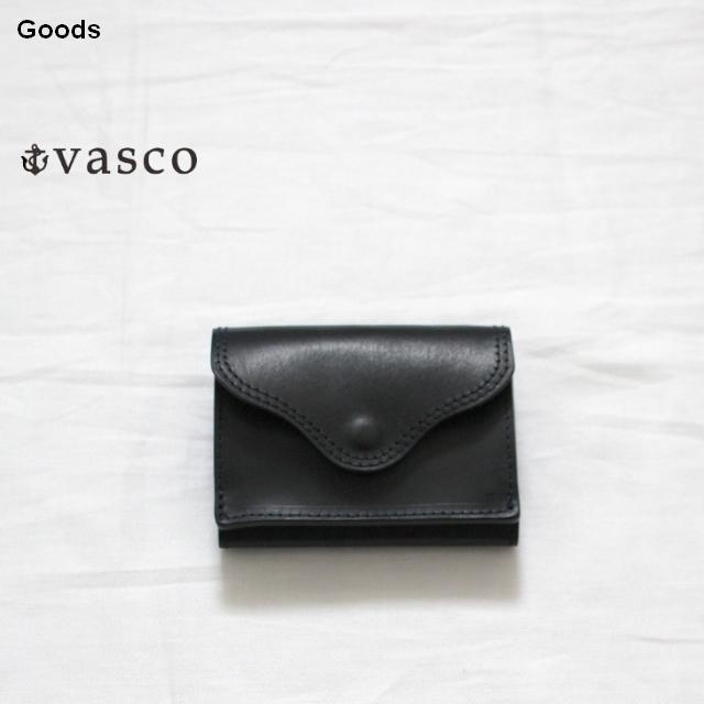 vasco  オイルドレザーポケットウォレット LEATHER VOYAGE POCKET WALLET VSC-702 (ネイビー)