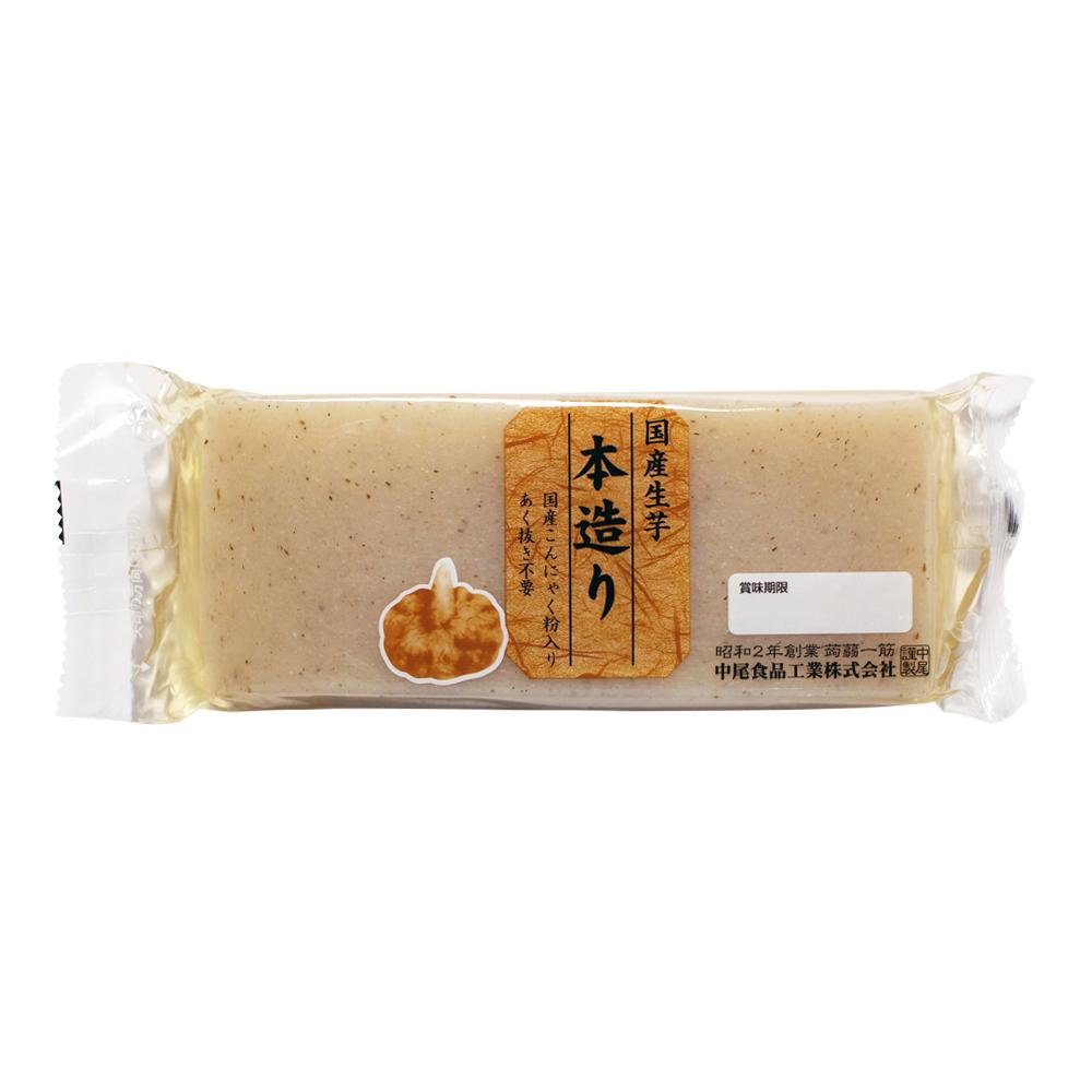 国産生芋 本造り芋板こんにゃく 250g