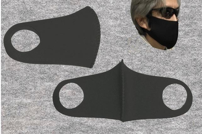 WSMウエットスーツ素材 フェイスカバー(2枚入り)送料無料!