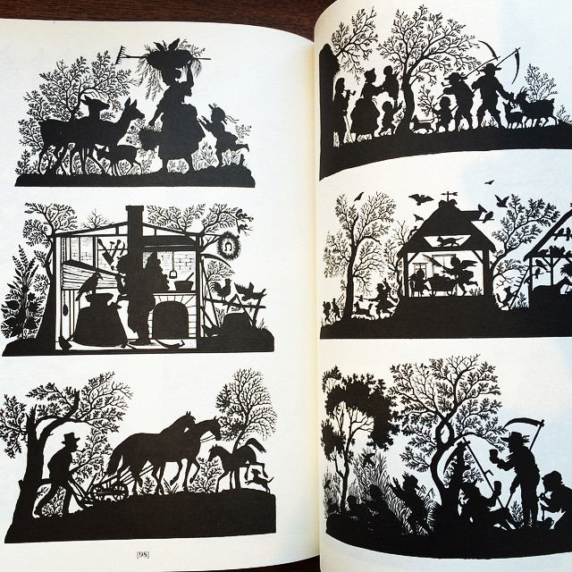 デザインの本「Silhouettes: A Pictorial Archive of Varied Illustrations」 - 画像3