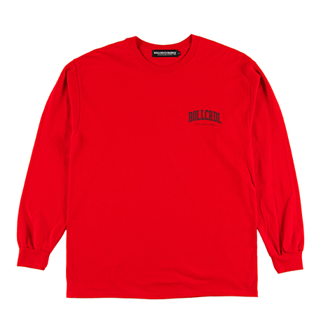 ROOLING CRADLE(ロリクレ) | RC LOGO LONG T-SHIRT -SHK ver- / Red