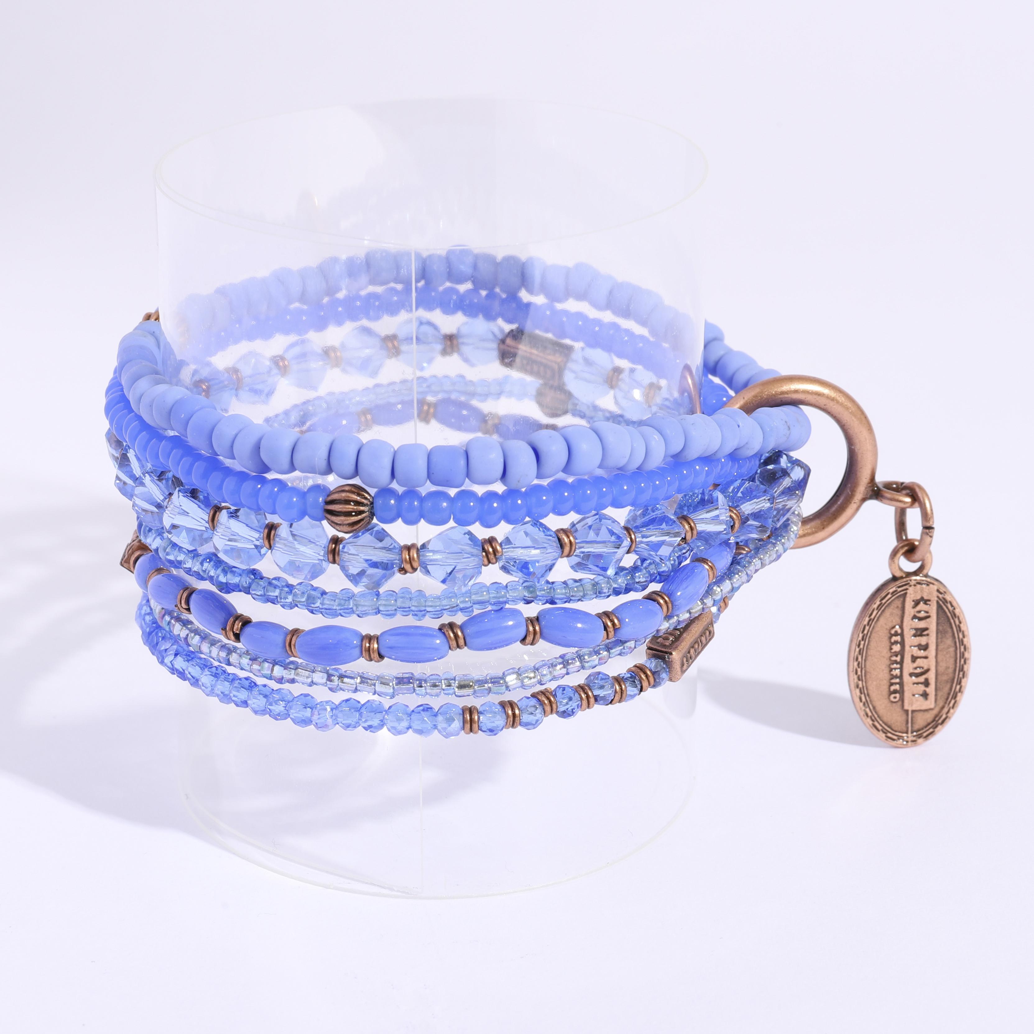 Petit glamor ブレスレット blue