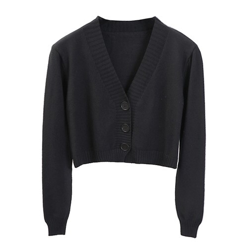【Select】Color Knit Cardigan
