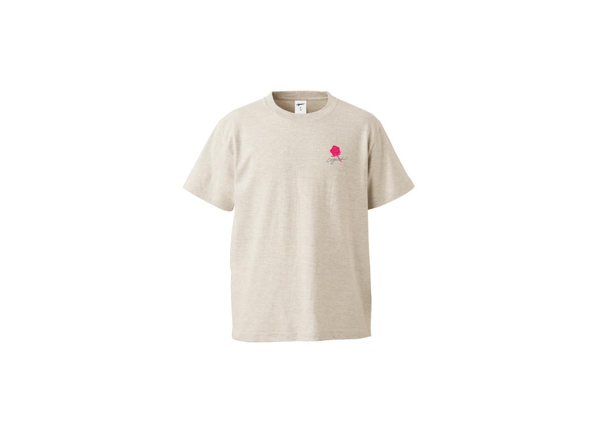 Rose T-shirt(otm/pnk)