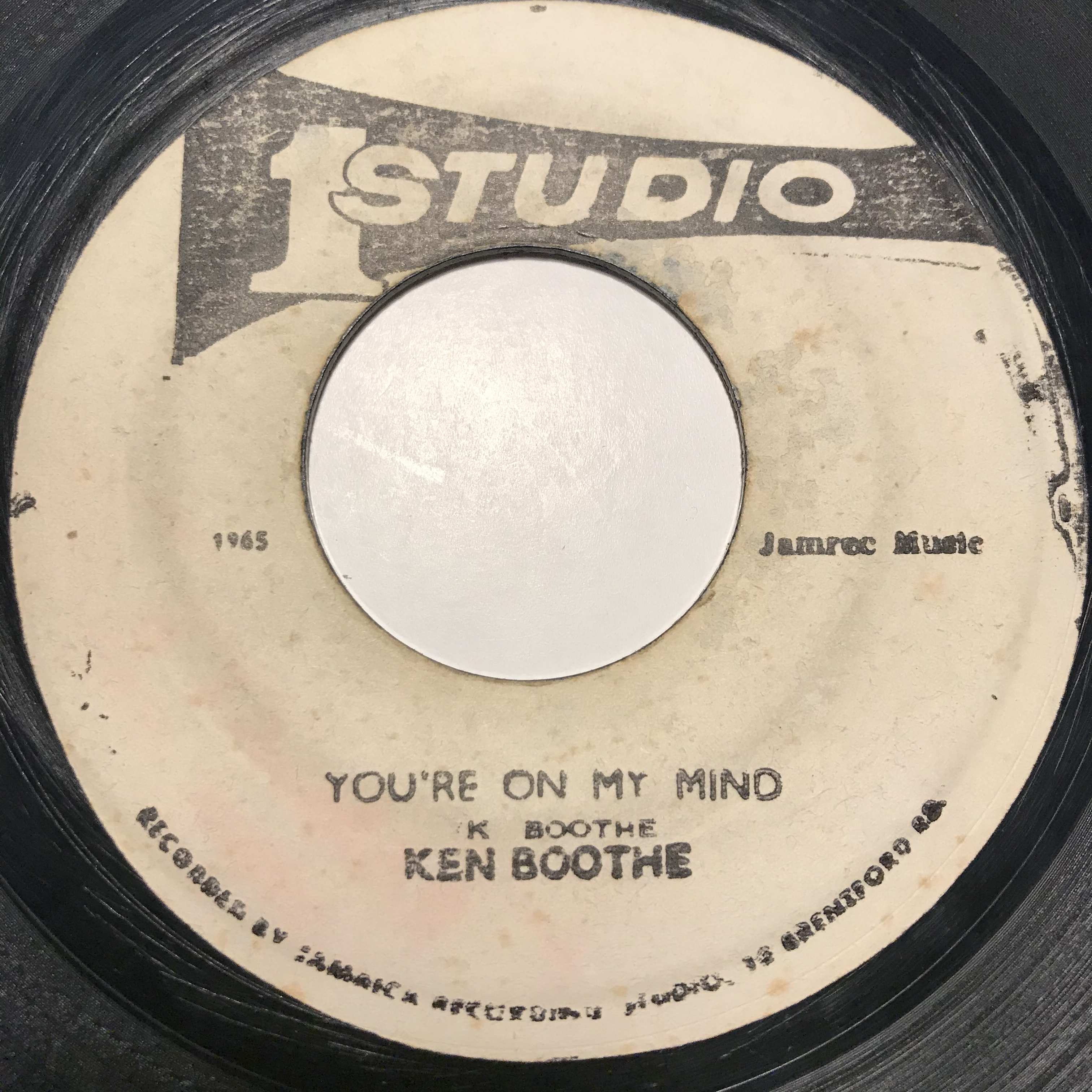 Ken Boothe - You're On My Mind【7-10862】
