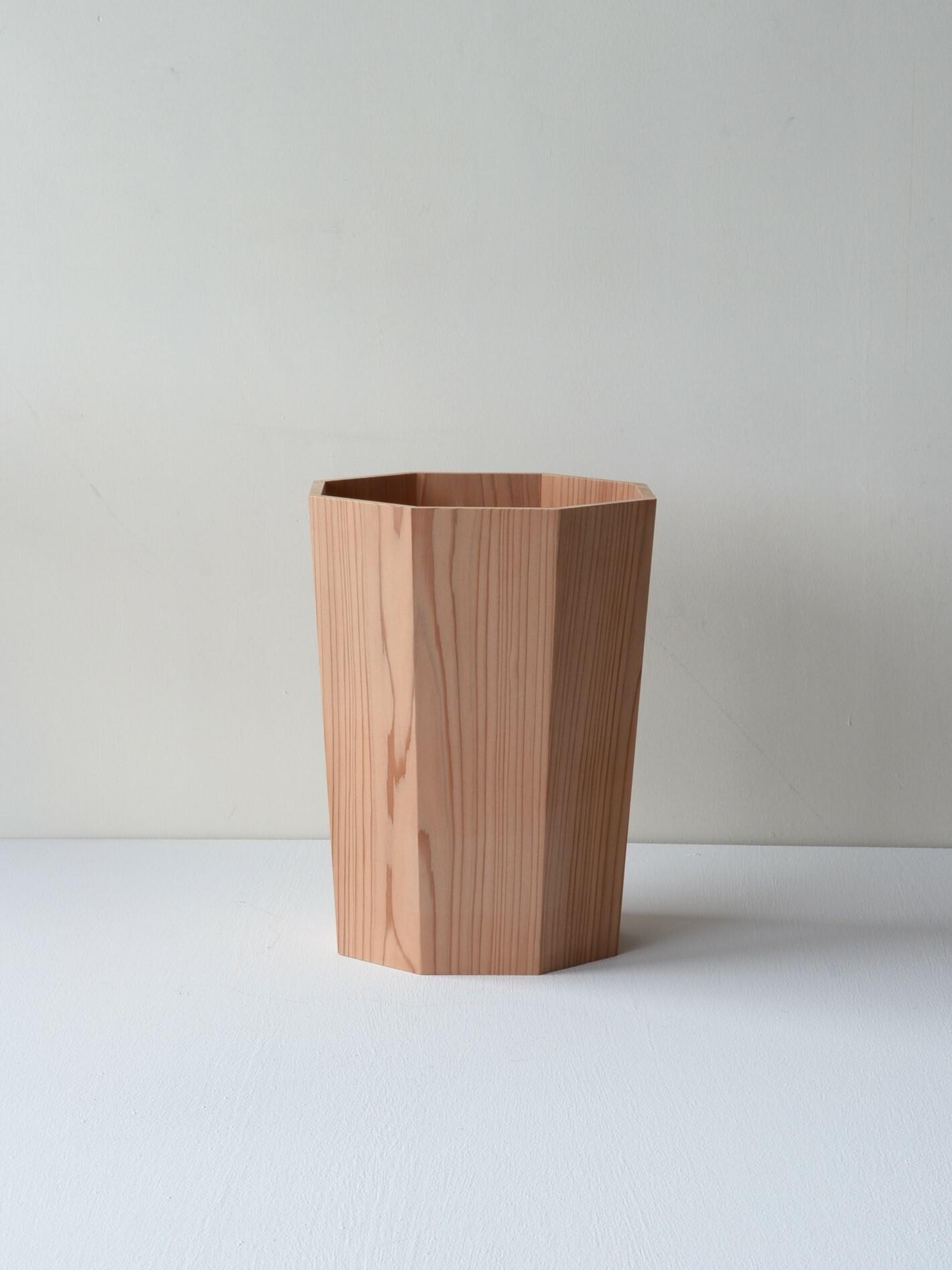 川合優 屑入れ大 masaru kawai-waste basket large