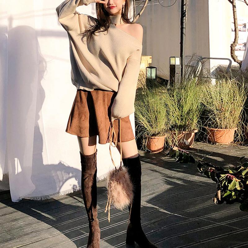 〈リクエストアイテム〉アシンメトリーニットセーター【asymmetry knit sweater】