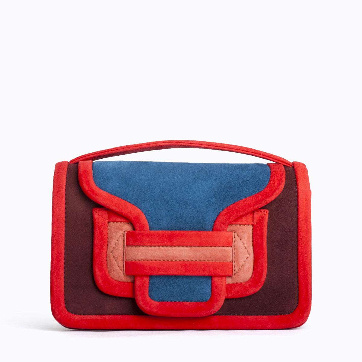 PIERRE HARDY ALPHA BAG   MULTI BLUE RED