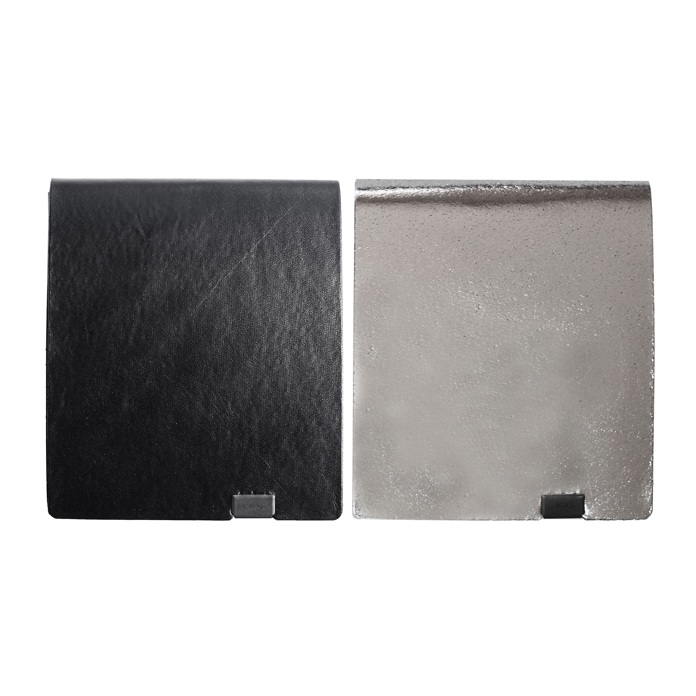 ボレロ -ショートウォレット2.0- ブラック×シルバー&シルバー×ブラック