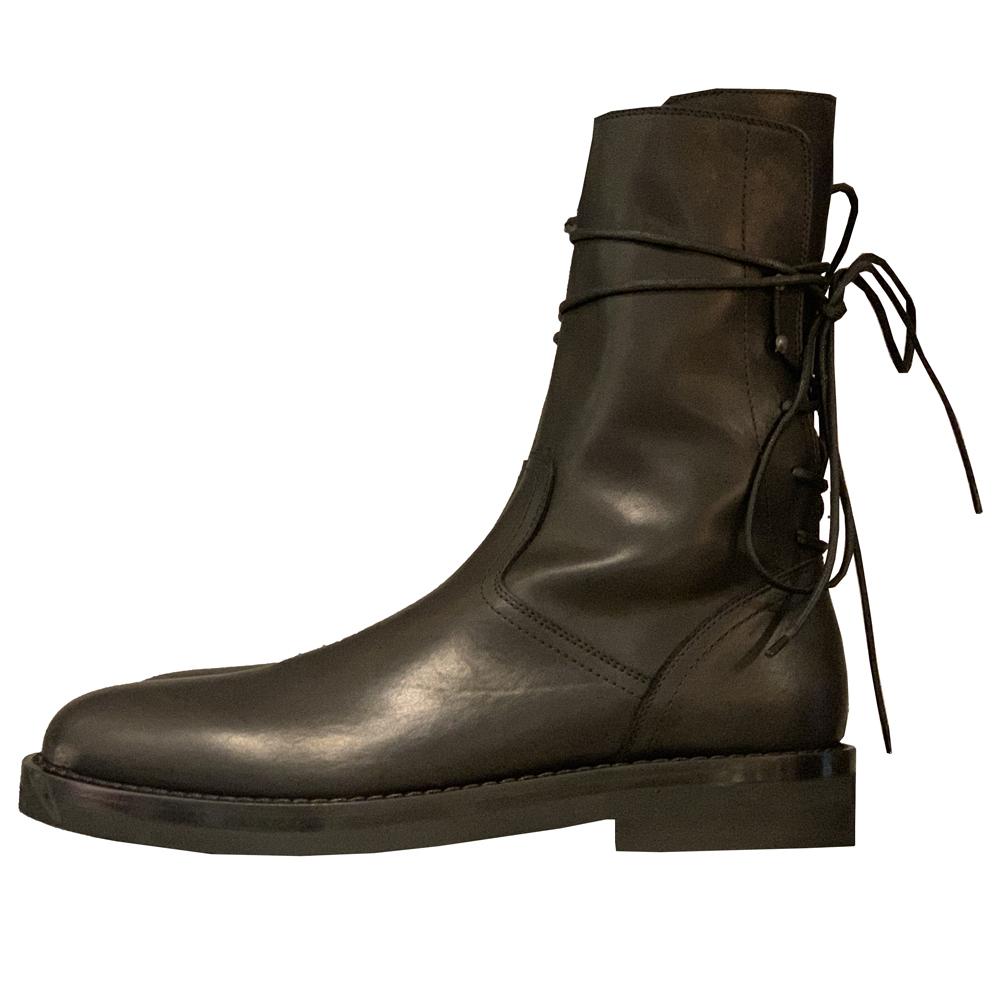 ANN DEMEULEMESTEER High Leather Boots