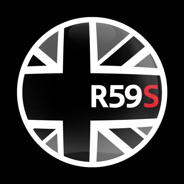 ゴーバッジ(ドーム)(CD0651 - FLAG BLACKJACK R59S) - 画像1