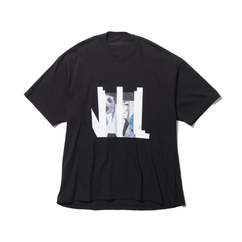 740CPM6-BLACK / NILøS プリント Tシャツ ver.4
