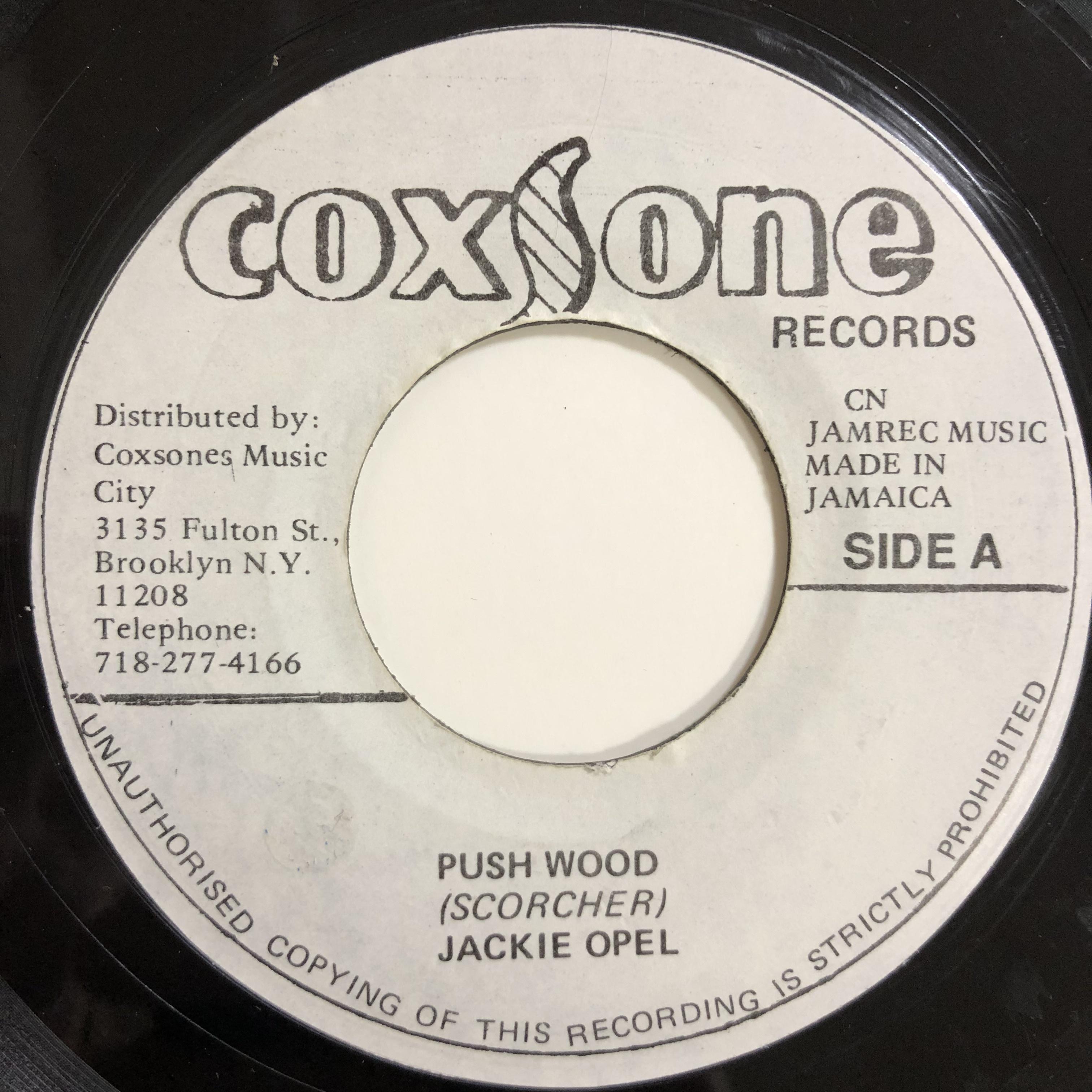 Jackie Opel(ジャッキーオペル) - Push Wood【7-20179】