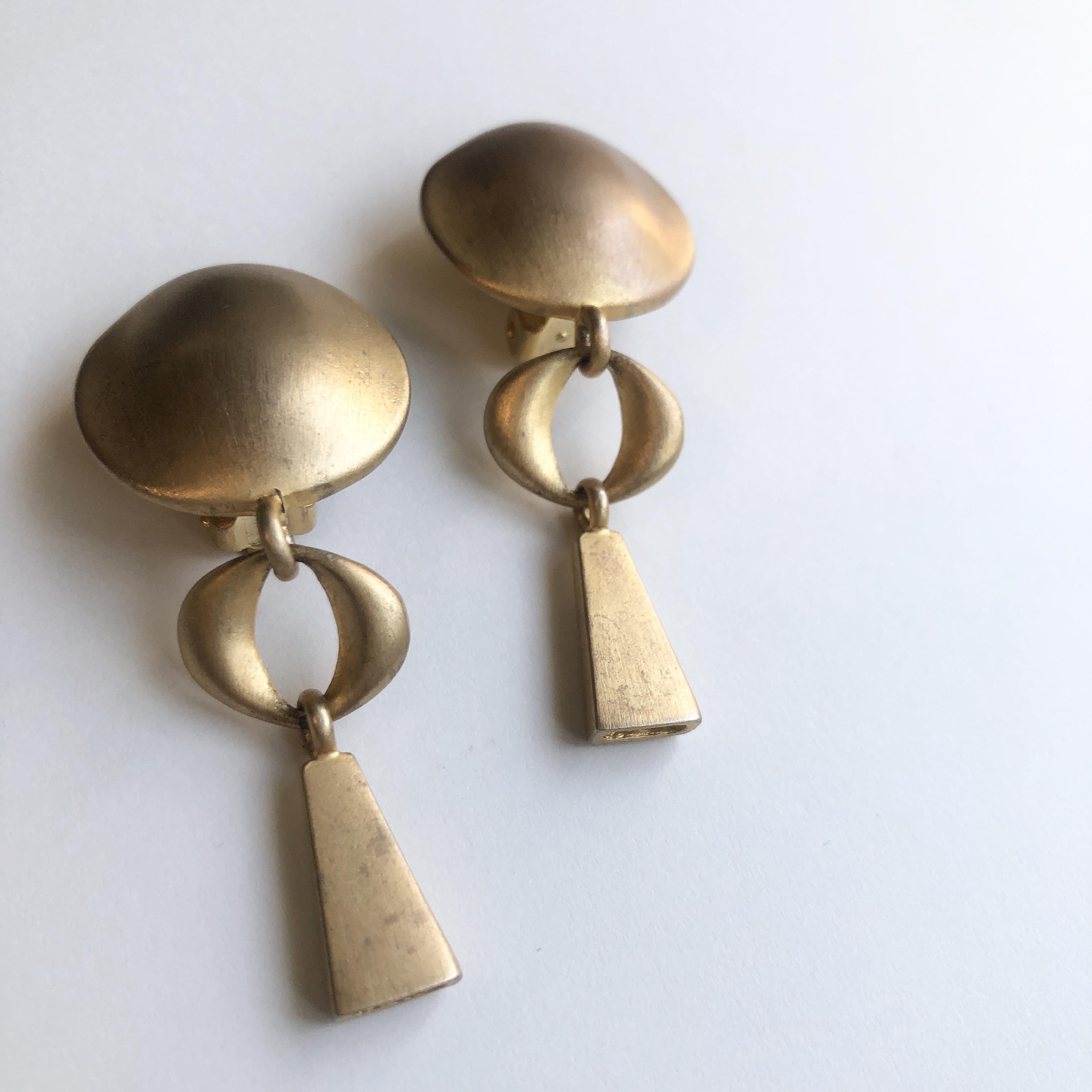 Vintage earrings X-006 *B