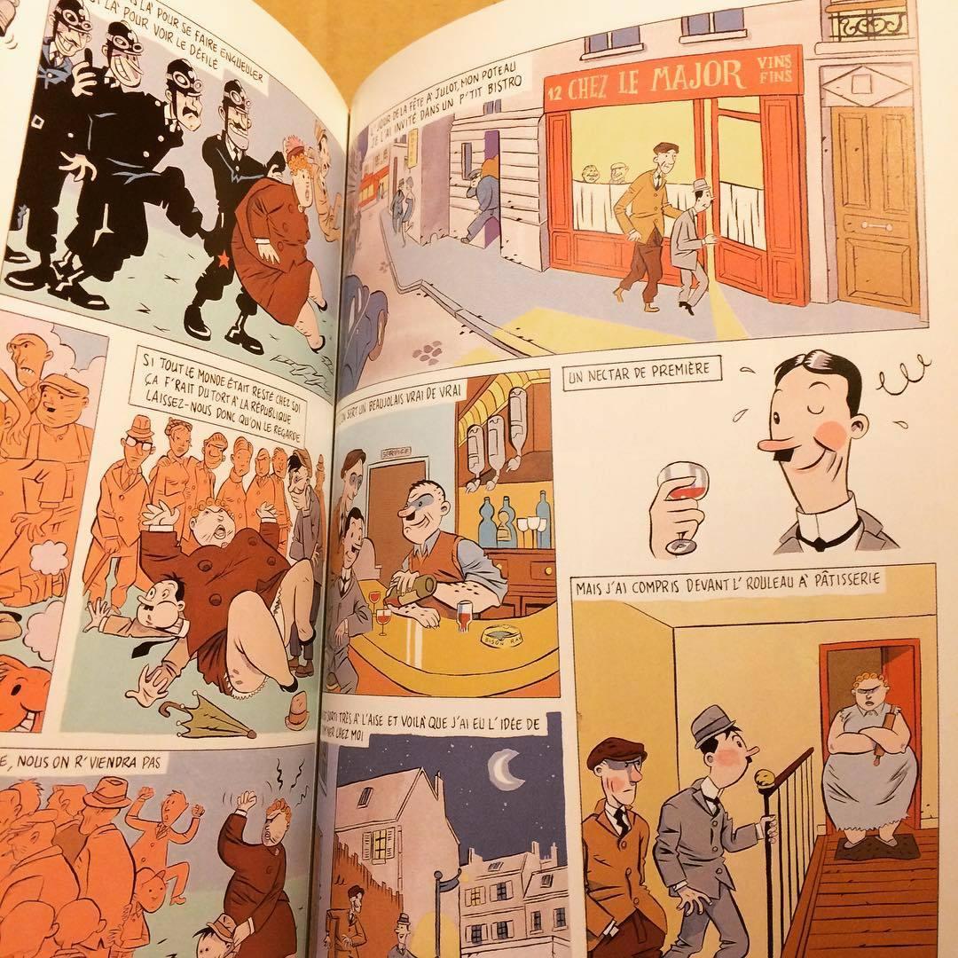 ボリス・ヴィアン バンド・デシネ「Chansons de Boris Vian en bandes dessinées」 - 画像2