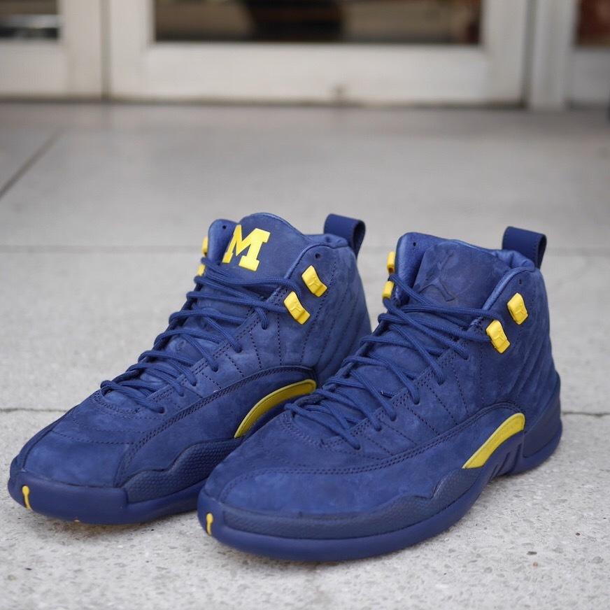 "Nike Air Jordan 12 Retro ""Michigan"""